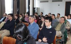 """Quang cảnh buổi bàn tròn với chủ đề """"Đại học nghiên cứu"""" diễn ra đầu tháng 4 tại Paris (Pháp)"""