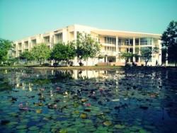 Một góc Trường ĐH Nông nghiệp Hà Nội, nay là Học viện Nông nghiệp Việt Nam.