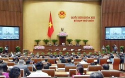 Kỳ họp Quốc hội thứ 9 đang diễn ra tại Hà Nội - Ảnh: TT.