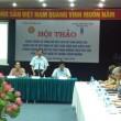 Hội thảo hoàn thiện và công bố kết quả khảo sát về tham nhũng (Ảnh: Lê Thơm).