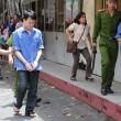Các bị cáo về trại giam sau khi nghe tuyên án
