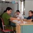 Công an phường Định Công làm việc với 2 người liên quan theo đơn trình báo của ông Nguyễn Tiến Thanh.