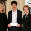 Lê Quang Liêm nhận học bổng của đại học Webster (Mỹ).