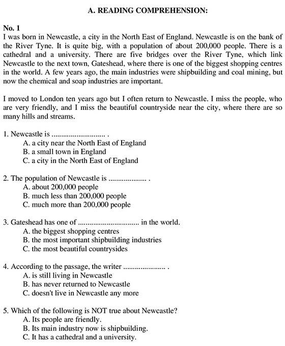 Ngân hàng câu hỏi môn tiếng Anh.M-page-001