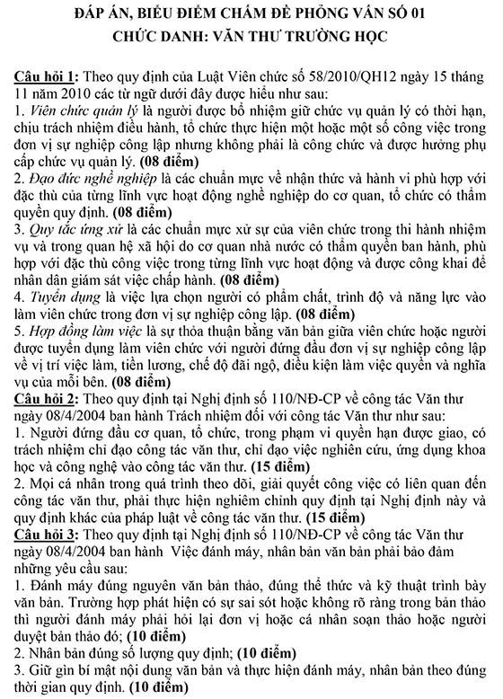 Microsoft Word - Chuc danh Van thu_Dap an.doc