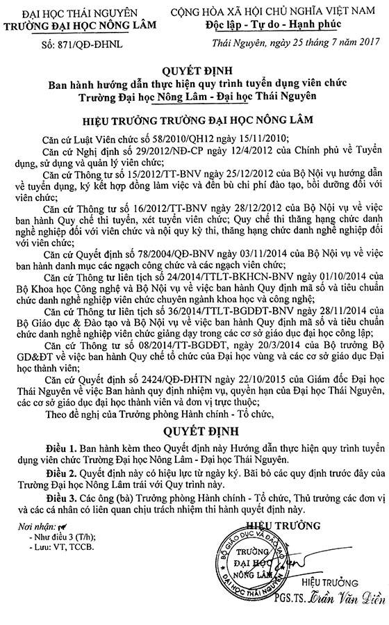 871_Quy trinh tuyen dung vien chuc DHNL nam 2017-1