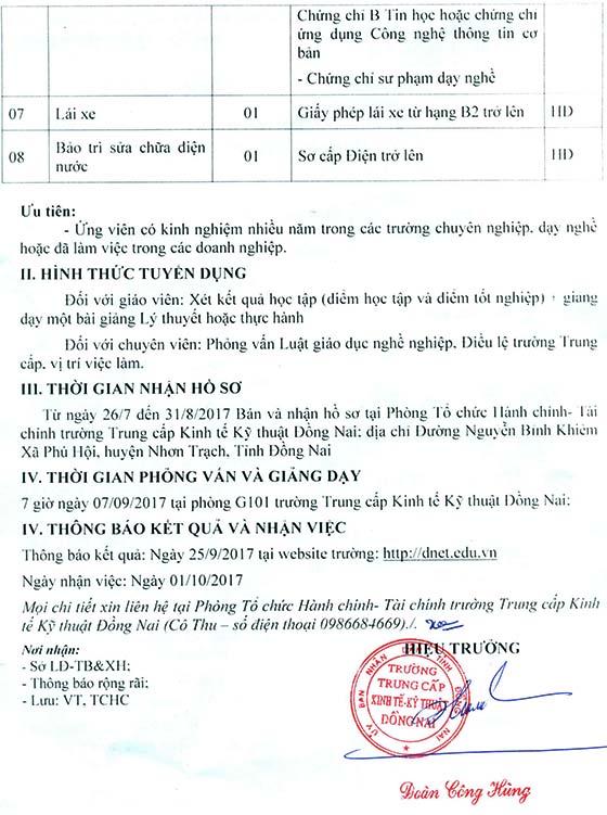 Thong bao ve tuyen dung vien chuc nam 2017-2