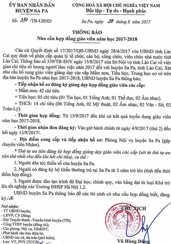 thông báo nhu cầu hợp đồng giáo viên 370signed_20170831094115159150