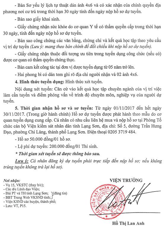 1282 TB tuyên dung cong chuc nam 2017-2