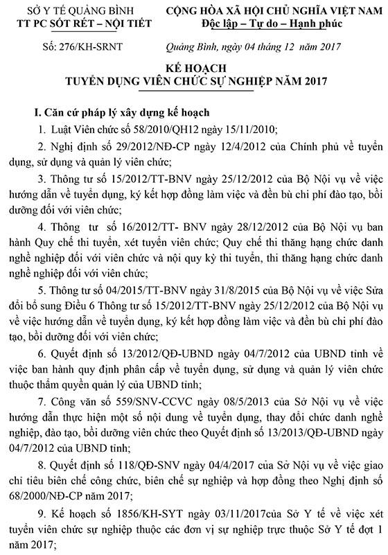 KH tuyen dung TT Phong chong sot ret-1