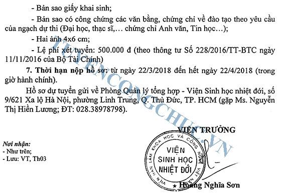 07-TB-VSHND-tuyen-dung-vien-chuc-nam-2018