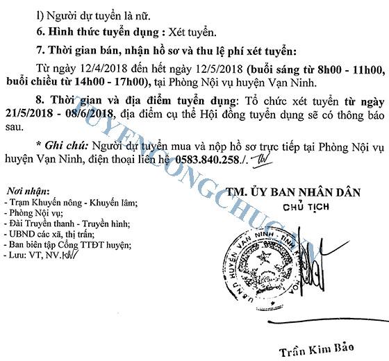 180411 Thong bao tuyen dung vien chuc TB 147-3