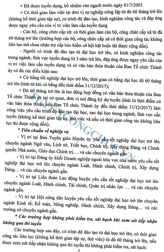 Thong bao So 529-TBHU ve viec tuyen dung can bo cong chuc 2018-2