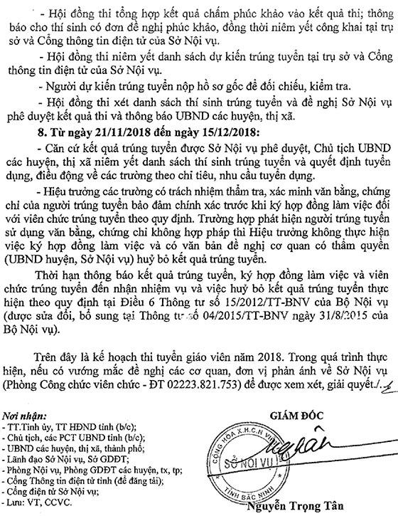 UBND tỉnh Bắc Ninh tuyển dụng giáo viên năm 2018-12
