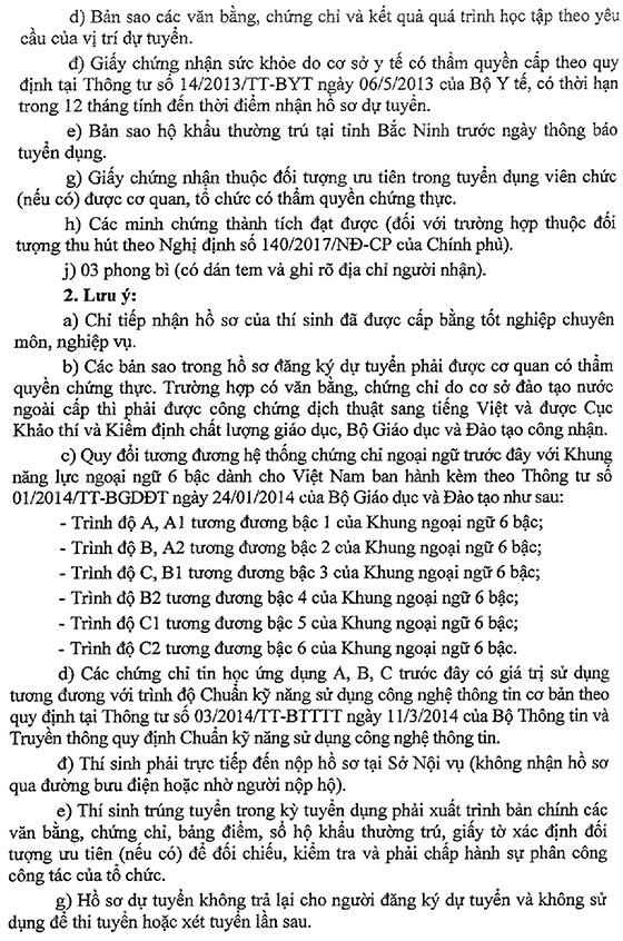 UBND tỉnh Bắc Ninh tuyển dụng giáo viên năm 2018-4