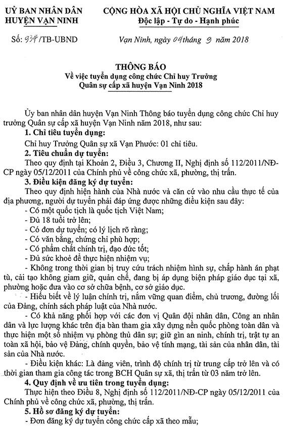 180904 TUYEN DUNG CHI HUY TRUONG QUAN SU XA TB 934-1