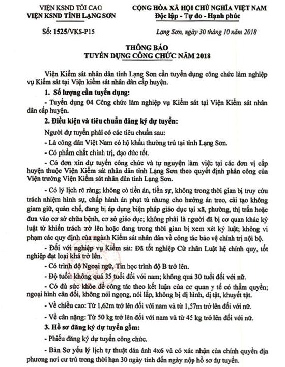 1525 TB tuyen dung cong chuc nam 2018-1