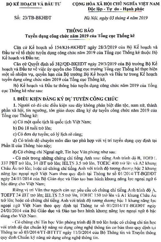 tong-cuc-thong-ke-tuyen-dung-cong-chuc-nam-2019