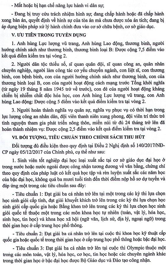 UBND tỉnh Cao Bằng tuyển dụng viên chức giáo dục năm 2019