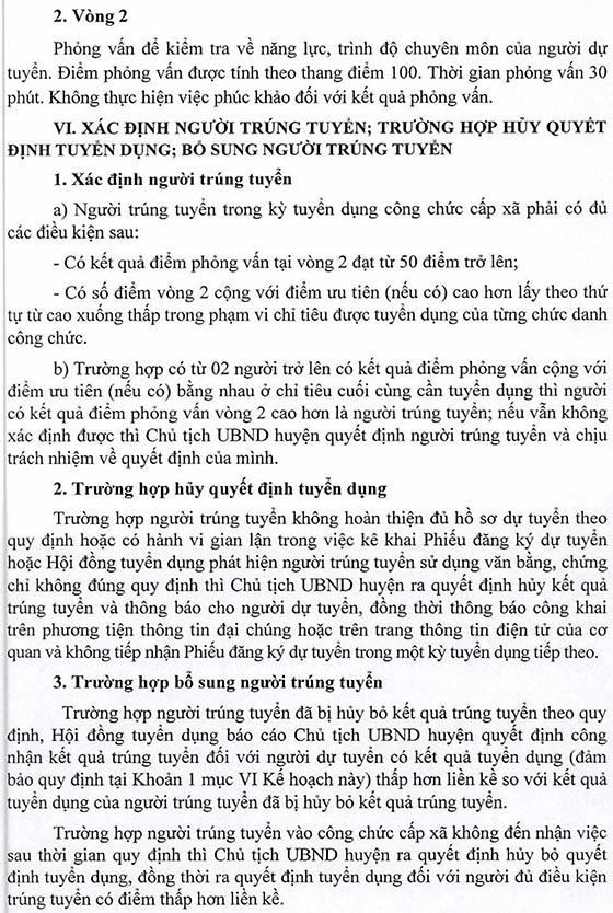 UBND huyện Nậm Nhùn, Lai Châu tuyển dụng công chức cấp xã năm 2019