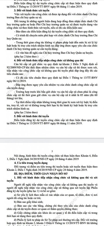 UBND xã Hòa Phước, TP. Đà Nẵng tuyển dụng công chức năm 2021