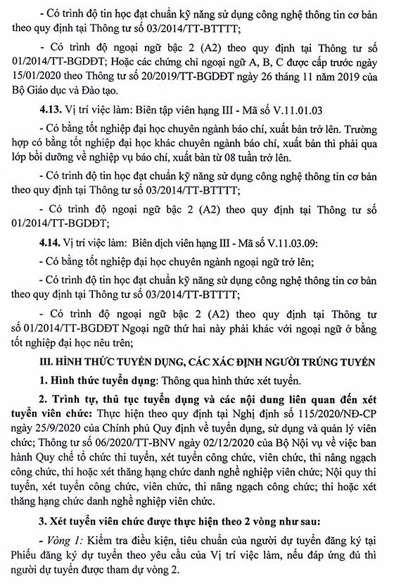 UBND huyện Thuận Châu, Sơn La tuyển dụng viên chức các đơn vị sự nghiệp công lập năm 2021